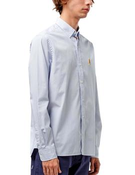 Shirt Edmmond BD Monster Mini Stripes marine man