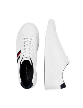 Tommy Hilfiger Corporate Leather trainers white man
