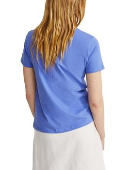 T-Shirt Ecoalf Underlined Because Lavender Woman