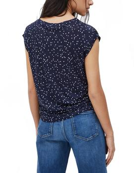 T-Shirt Pepe Jeans Cherry navy woman