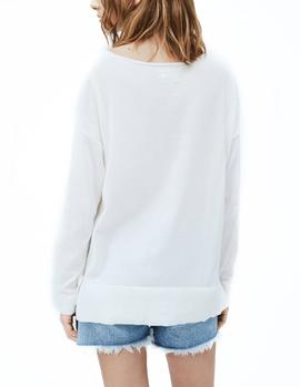 Sweater Pepe Jeans Lucy white woman