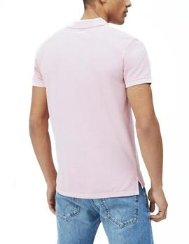 Polo Pepe Jeans Vincent pink man