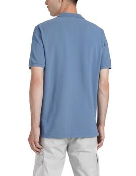 Edmmond Wilson polo shirt blue man