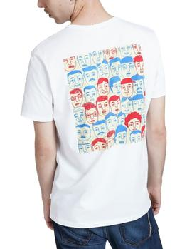 T-Shirt Edmmond Faces white man