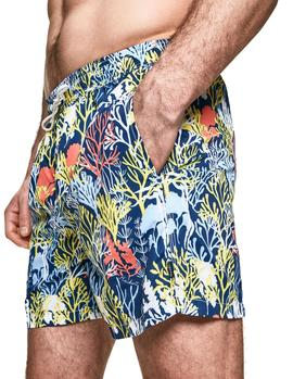 Swimsuit  Hackett Coral navy blue man