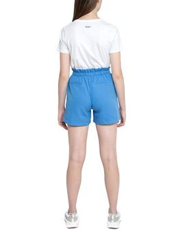 Shorts Pepe Jeans Nell light blue woman