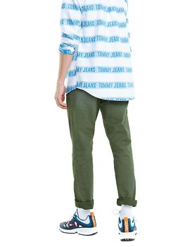 Tommy Jeans Scanton Washed RX0131 men's green pants