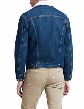 RX0110 Levi's Type 3 Sherpa Trucker blue man